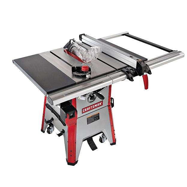 Craftsman 21807 Table-Sawing Equipment