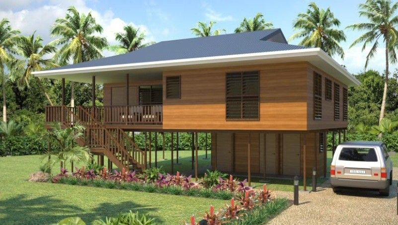 wooden house images