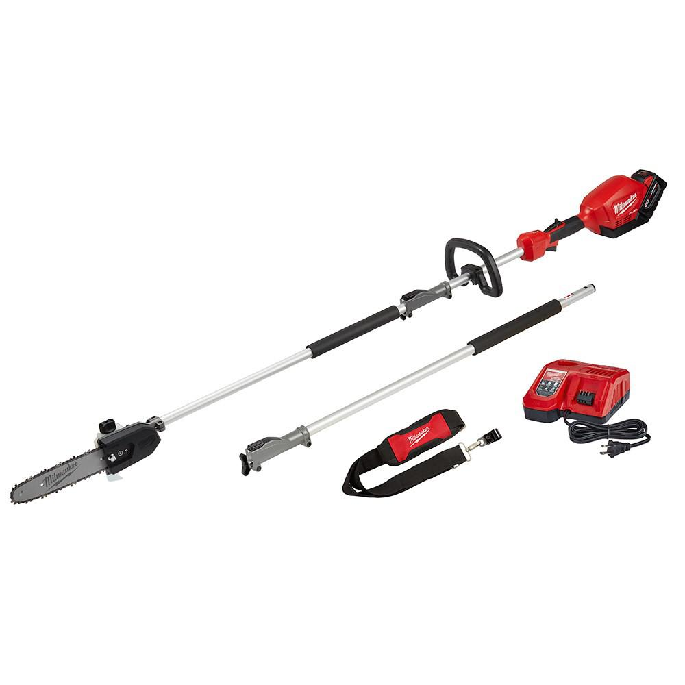 M18 FUEL™ 10 Pole Saw Kit w: QUIK-LOK™ Attachment