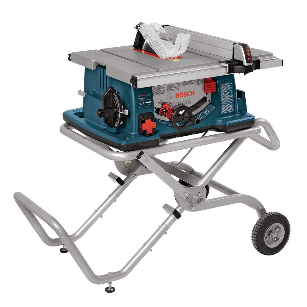 Bosch Table Saw GTS1031 vs 4100