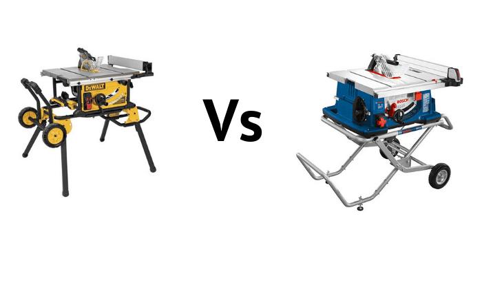 DeWalt Dwe7491rs vs. Bosch 4100-09