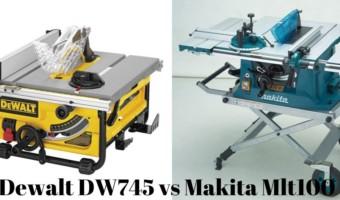Dewalt DW745 vs Makita Mlt100