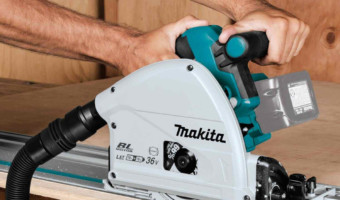 Makita XPS02ZU Plunge Circular Saw Kit