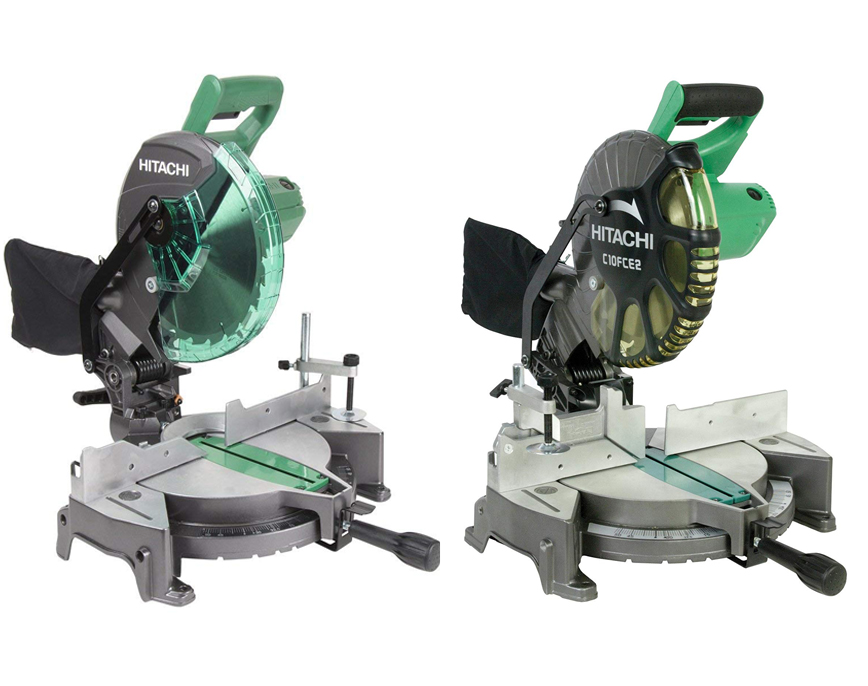 Hitachi c10fcg vs c10fce2 Miter Saw