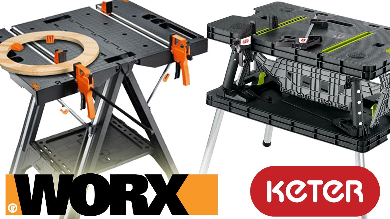Worx Pegasus vs. Keter Work Table