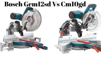 Bosch Gcm12sd vs Cm10gd