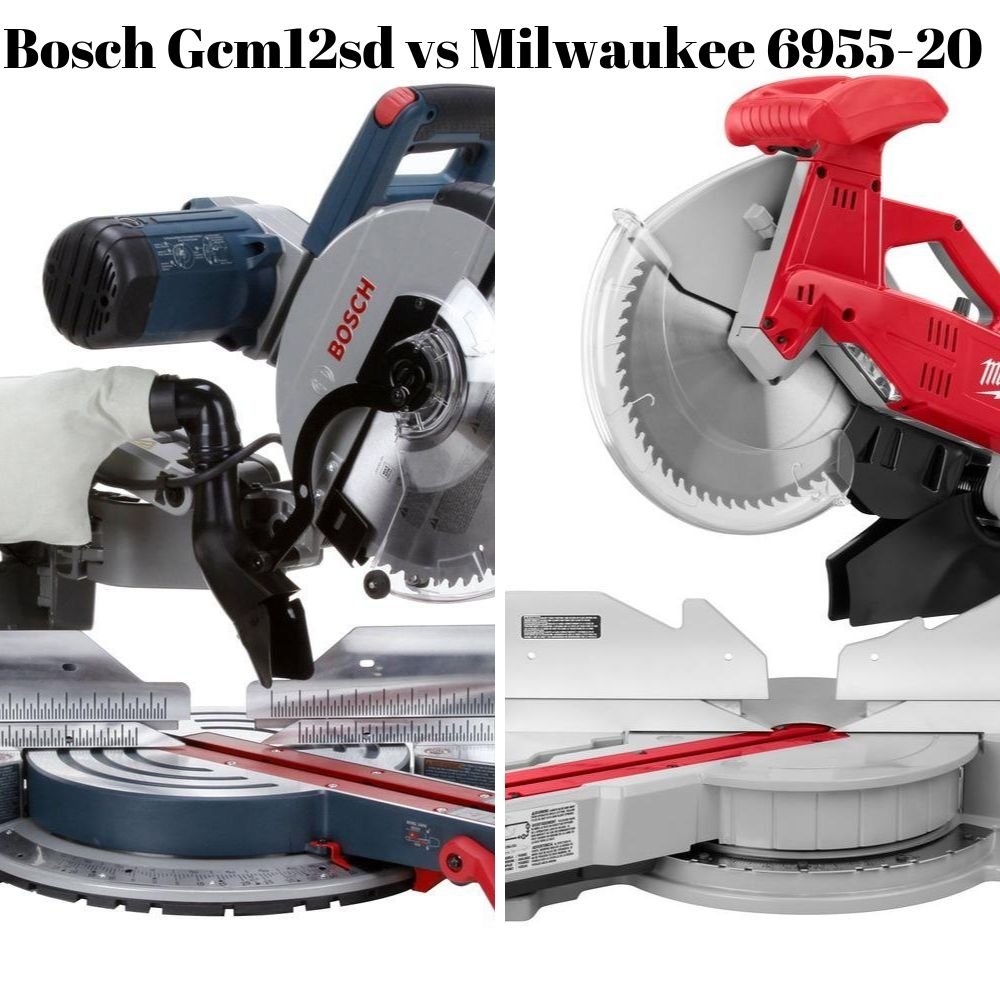 Bosch Gcm12sd vs Milwaukee 6955-20