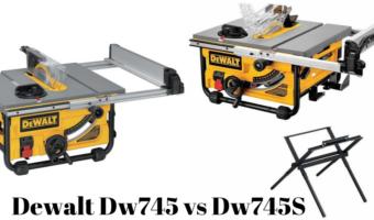 dewalt dw745 vs dw745s