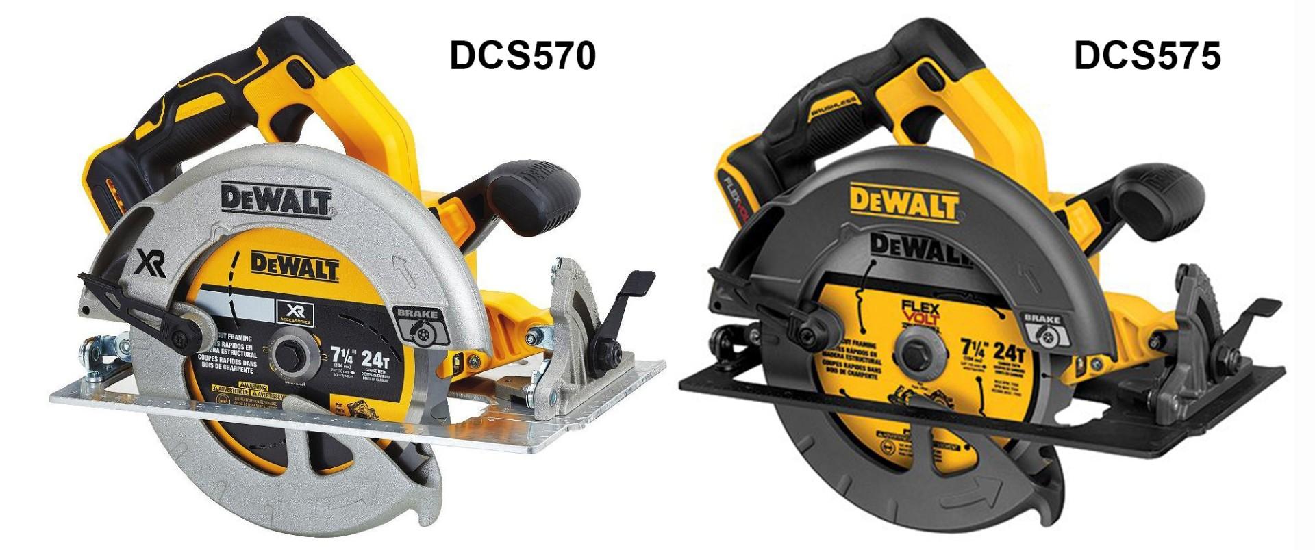 Dewalt Dcs570 vs Dcs575
