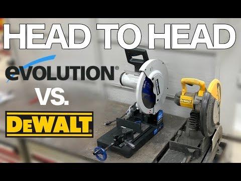 Evolution Evosaw380 vs Dewalt Dw872