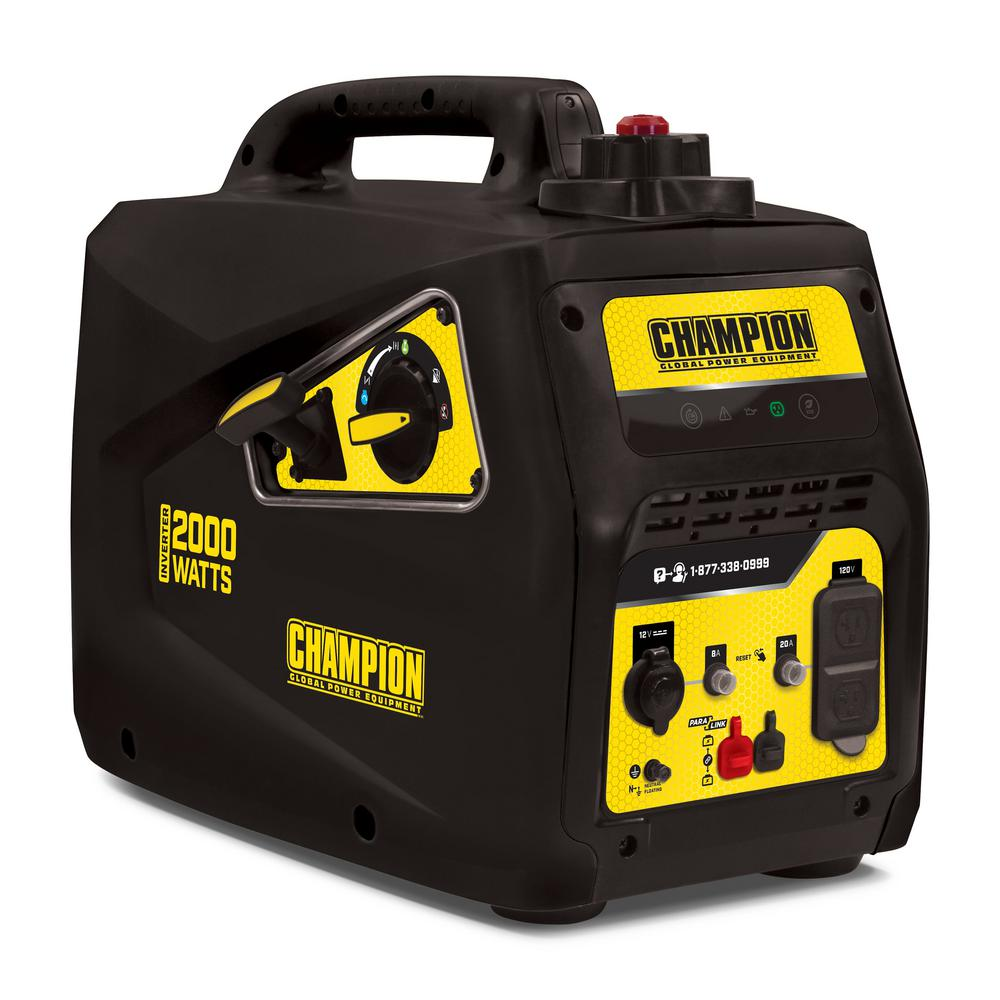 Champion Generator 2000 review