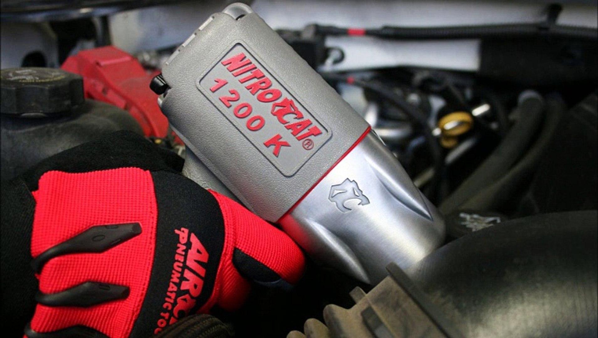 Nitrocat 1250k vs 1200k Air Impact Wrench
