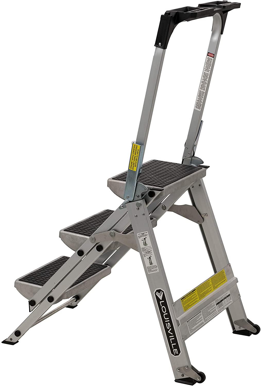 Louisville Ladder 3 Foot Step Stool heavy duty
