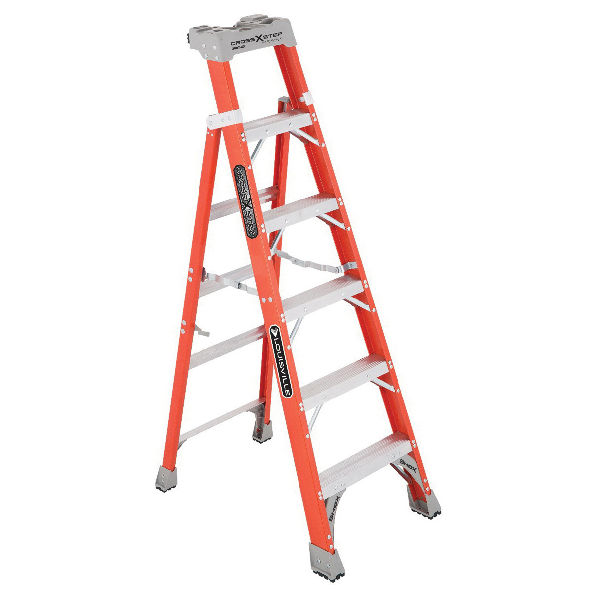 Louisville Ladder FXS1506, 6-feet