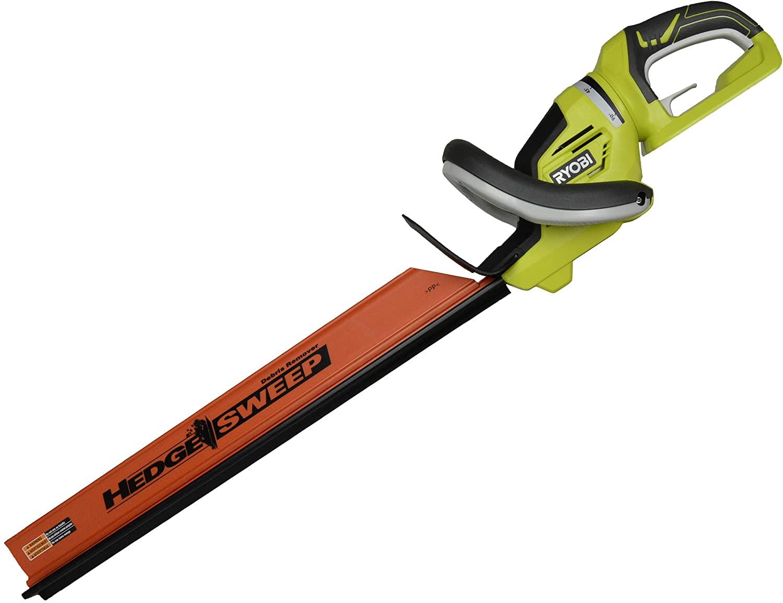 RYOBI RY40602 40 Volt 24-inch Hedge Trimmer w:Rotating Handle