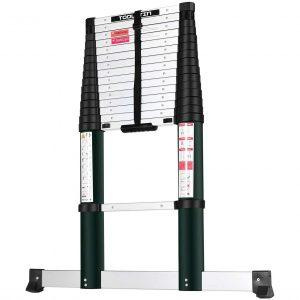 Toolitin Telescoping Ladder, 12.5 FT