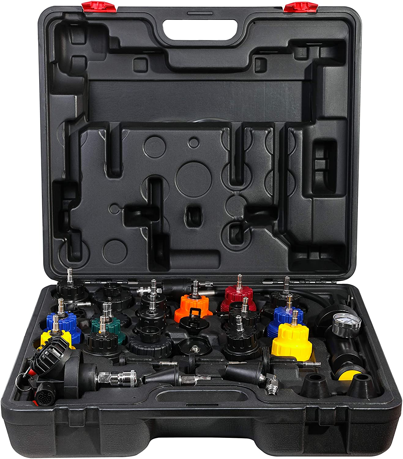 ARES 15002-31-Piece Radiator Pressure Tester and Vacuum Type Cooling System Kit