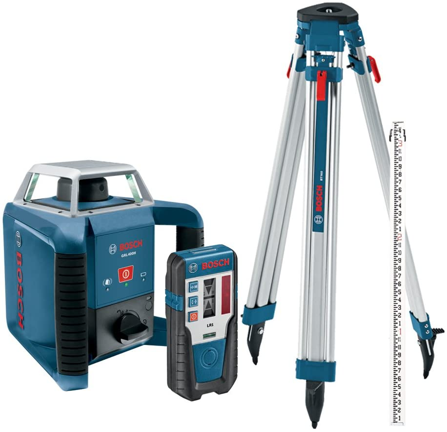 Bosch Exterior Self-Leveling Rotary Laser Kit