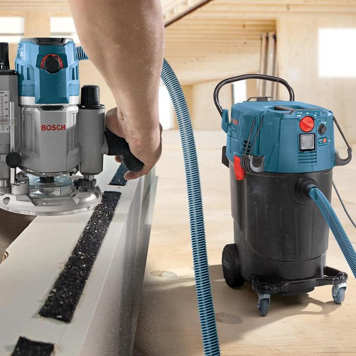 Bosch 14 Gallon Dust Extractor with Auto Filter Clean and HEPA Filter VAC140AH review