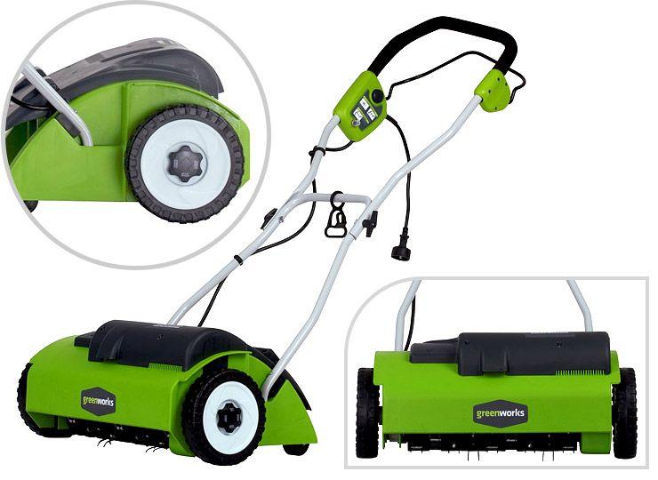 Greenworks 27022 Dethatcher