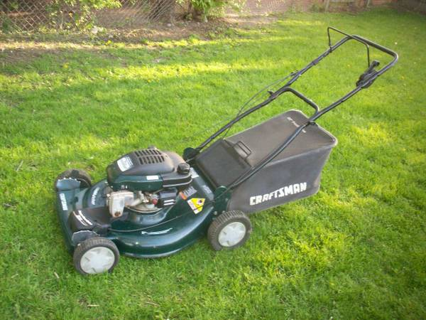 How to drain gas from the lawnmower?