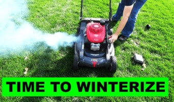 How to winterize a lawnmower?
