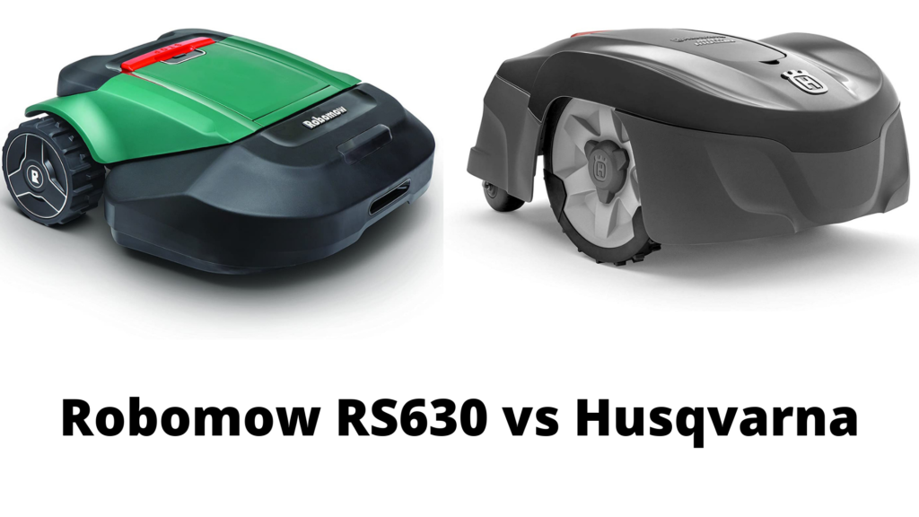 Robomow RS630 vs Husqvarna