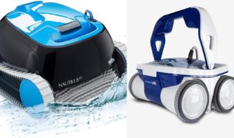 Aquabot x4 vs Dolphin Nautilus CC