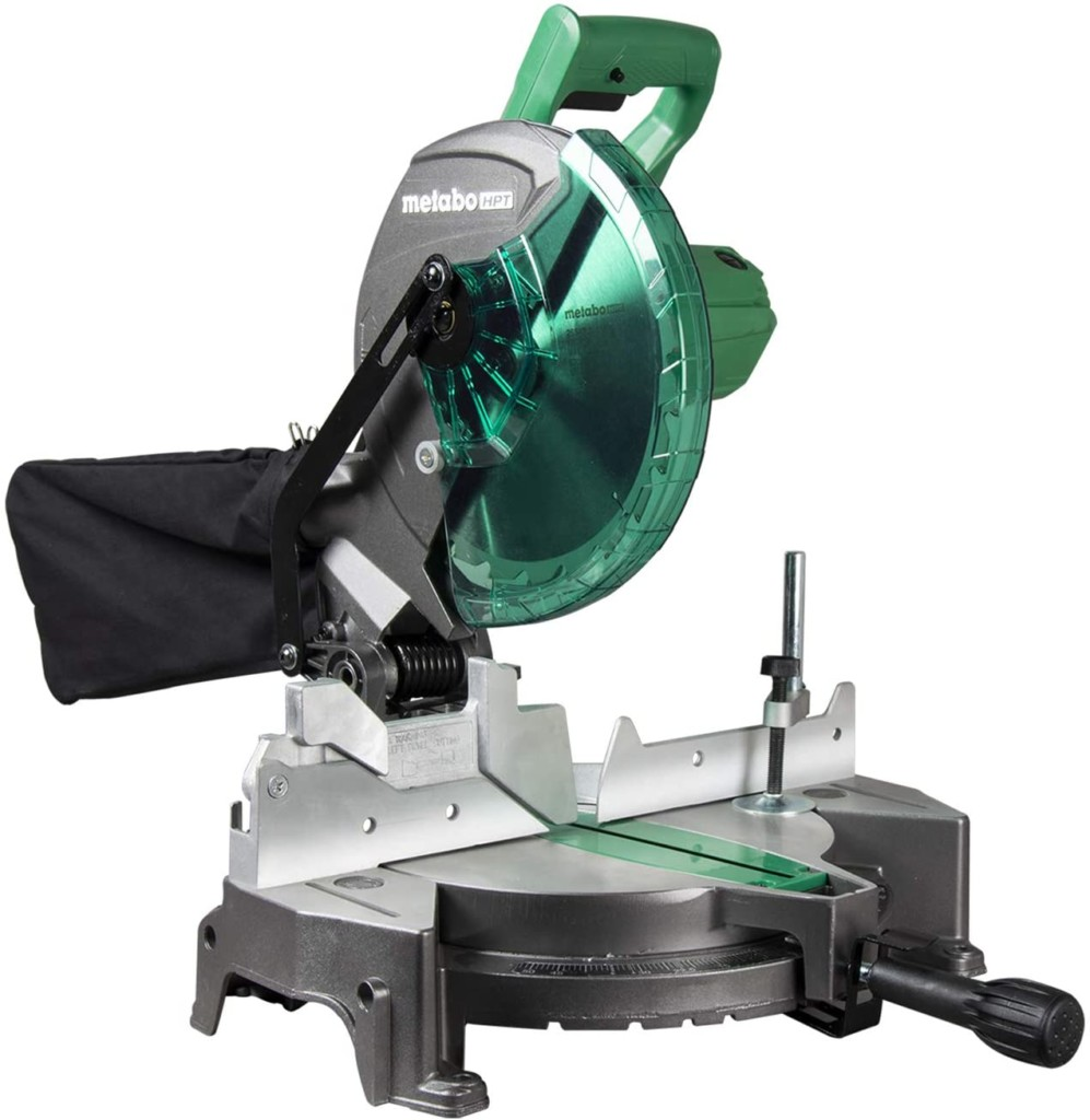 Metabo HPT 10-Inch Compound Miter Saw, Single Bevel