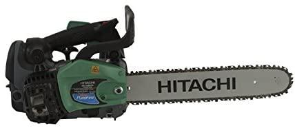 Hitachi CS33EDTP 2-Stroke Gas Powered Top Handle Chain Saw with PureFire Engine
